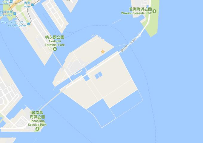 Tokyo 2020 Google Map