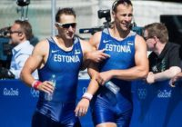 Raja ja Endrekson Rio OM (foto Delfi Sport)